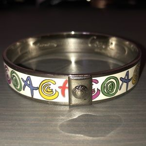Coach - Rainbow colored bangle